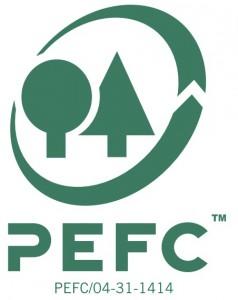 Taras kompozytowy Kovalex - certyfikat PEFC